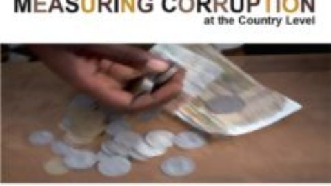 A Trainer's Manual on Measuring Corruption at the Country Level