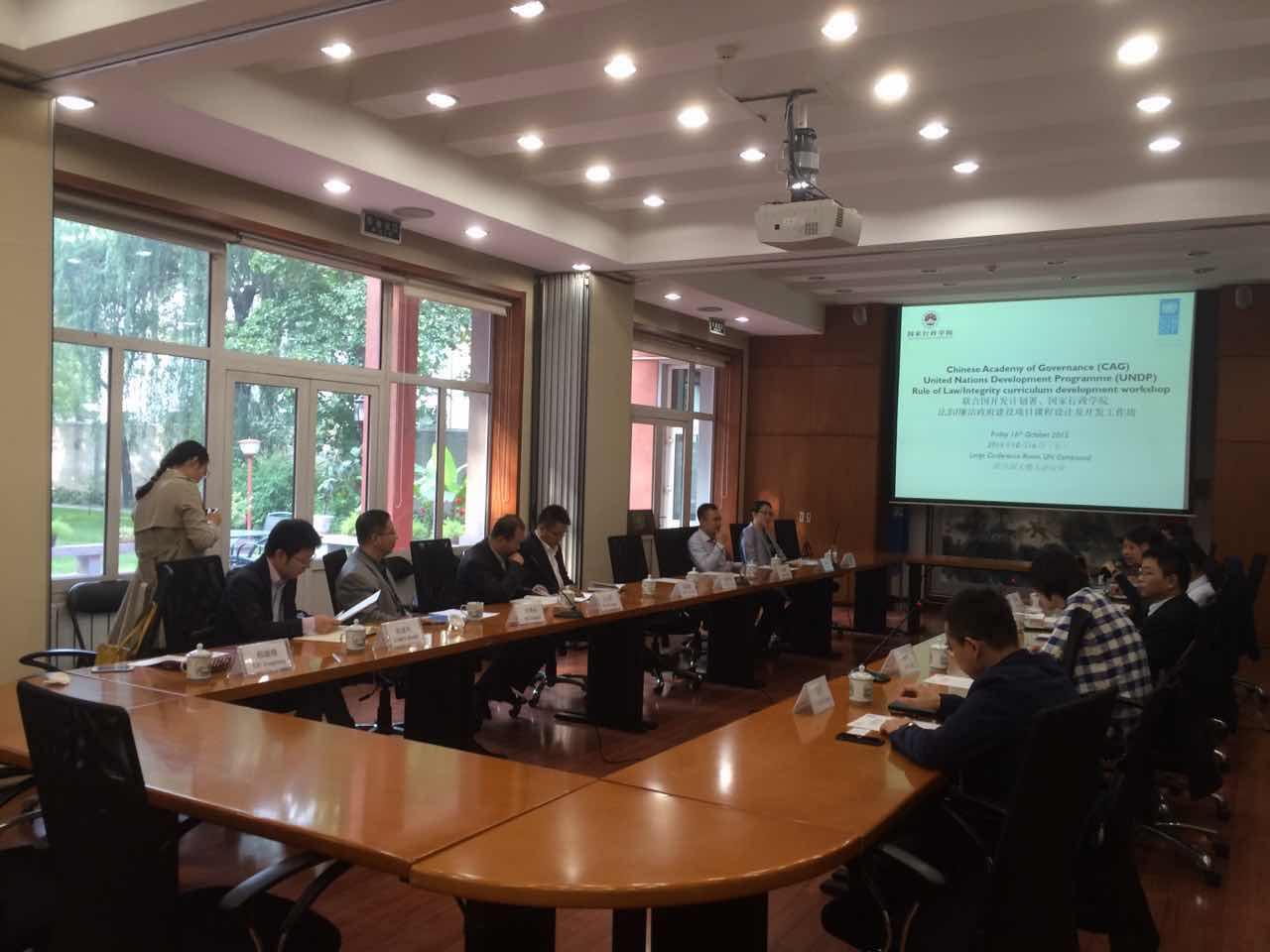 UNDP-CH-PEG-Anti corruption workshop 16Oct