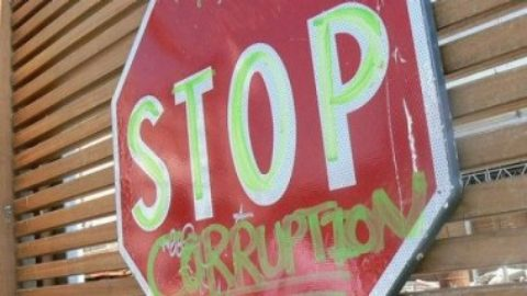 Let's talk about corruption. But let's start with transparency and accountability